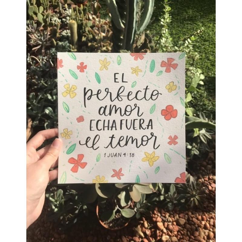 Perfecto Amor - 18 x 28