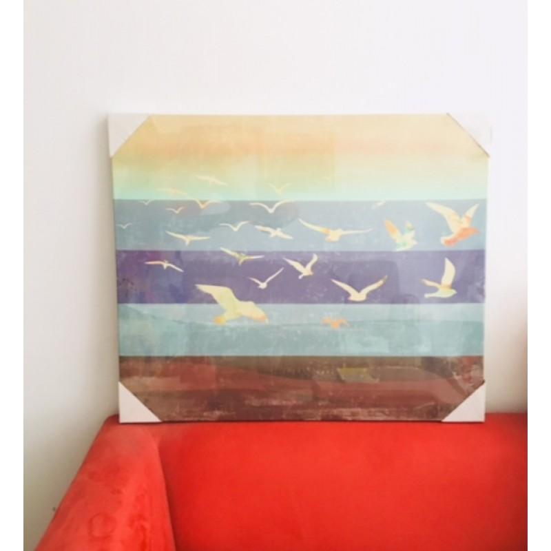 Pájaros en Azul