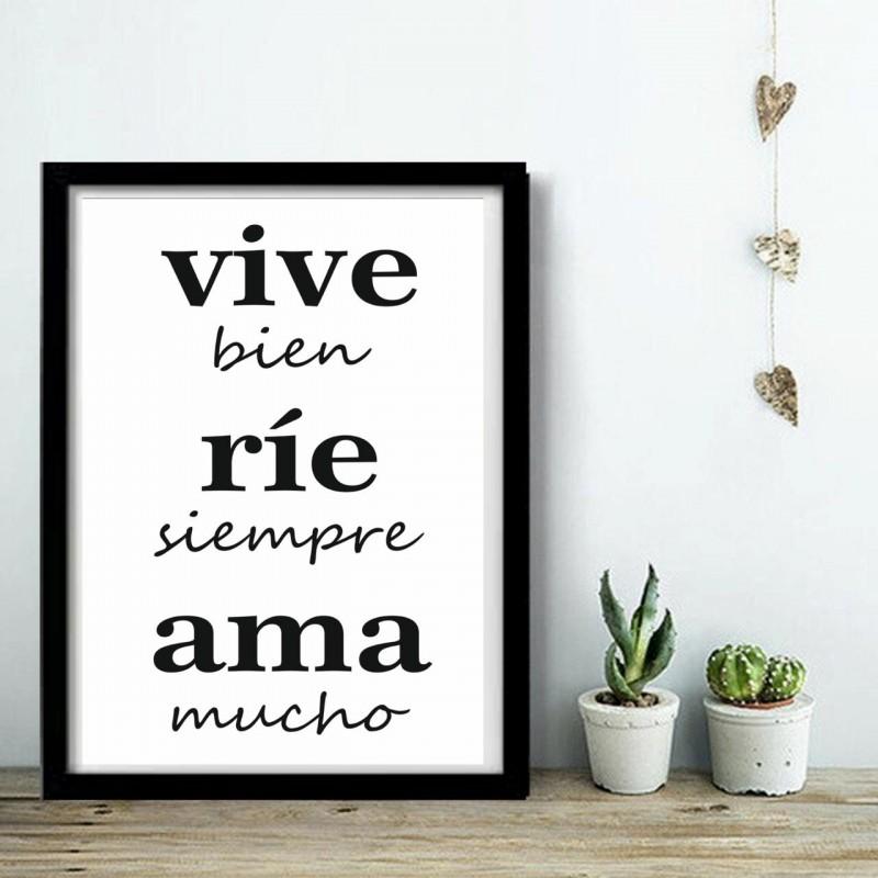 Vive Bien [20 x 30]