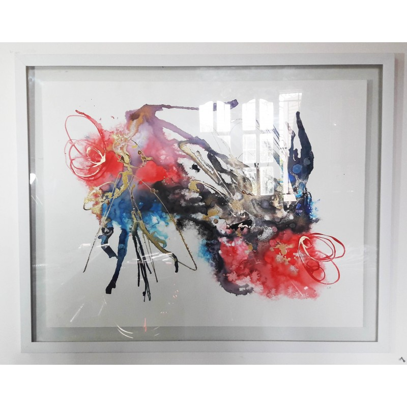 Cuadro Abstracto 75X60cm