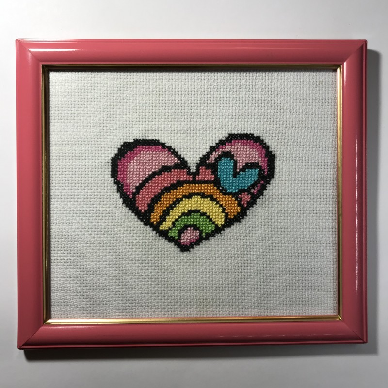 Romero Britto Corazon
