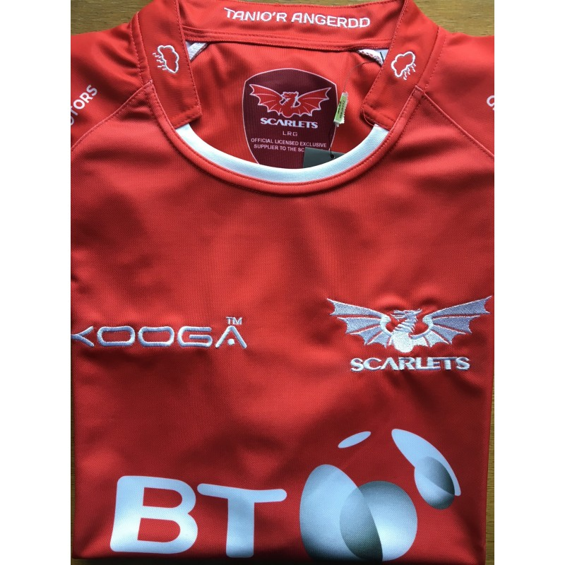 Scarlets Rugby Shirt